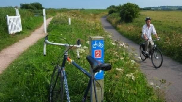 The exe Estuary Trail, a family friendly ride along the Exe Estuary