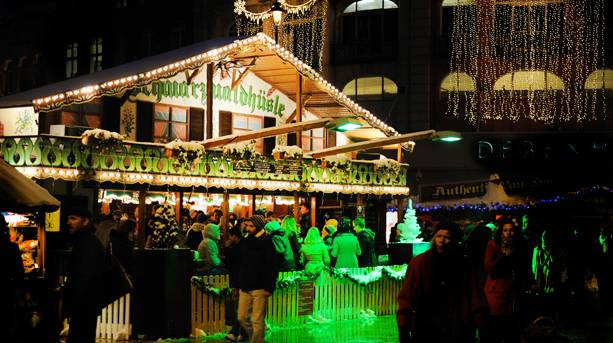 The Alpine Bar at the Bournemouth Christmas Market