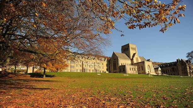 The Abbey Church at Ampleforth Abbey