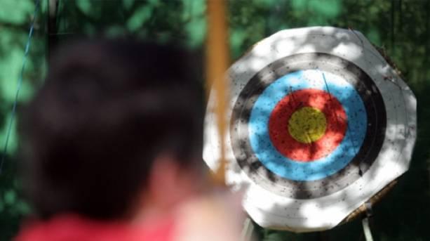 Enjoy archery in Sherwood Forest