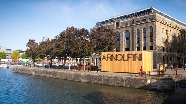The Arnolfini on Bristol Waterside
