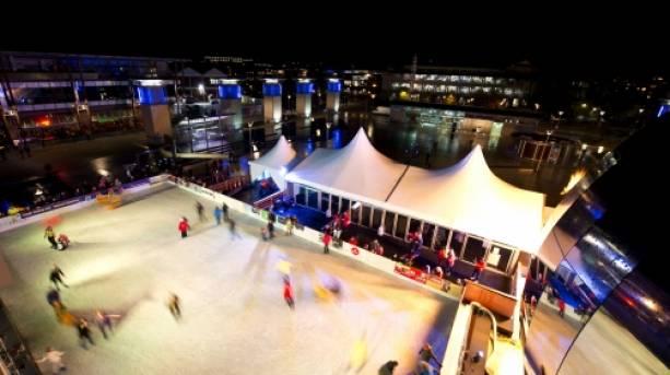 At-Bristol Christmas Ice rink
