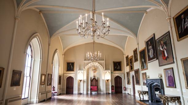 Zurbaran paintings at Auckland Castle, Vale of Durham