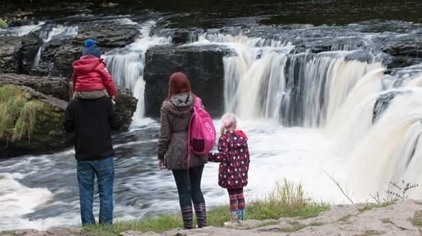 Aysgarth Falls; Yorkshire