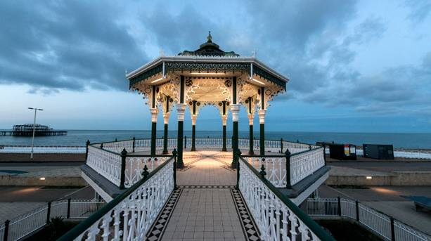 Photo of the bandstand