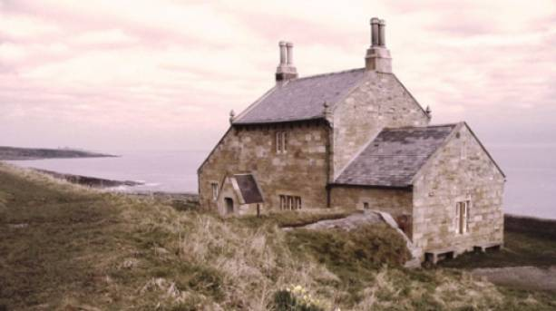 Lady Grey's Bathing House at Howick Haven