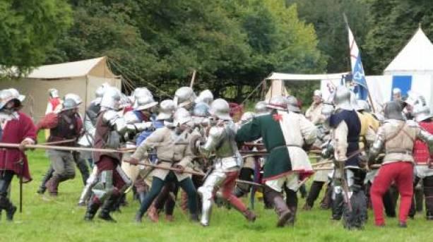 Battle of Mortimer's Cross reenactment