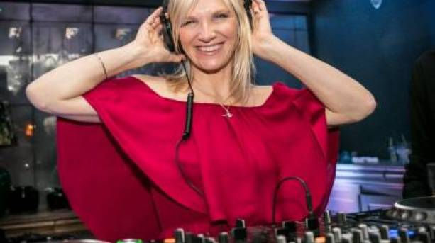BBC Radio 2 DJ Jo Whiley at the Ultimate House Party at Cheltenham Jazz Festival