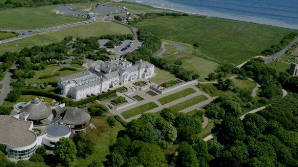 Seaham Hall Aerial View