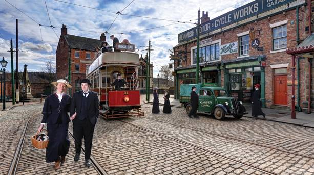 The 1900s Town at Beamish Museum