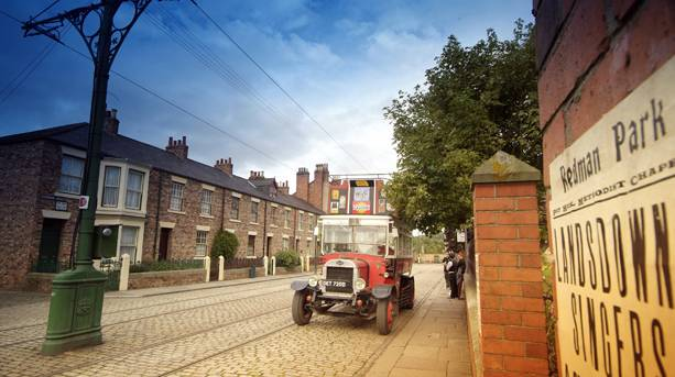 Vintage transport at the Beamish Museum