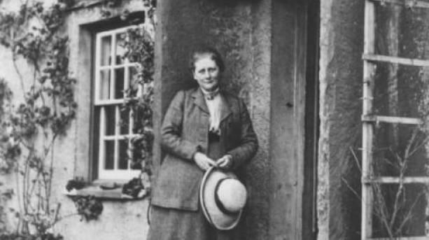 Beatrix Potter at Hill Top