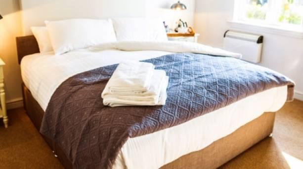 Bedroom at the Pheasant at Neenton