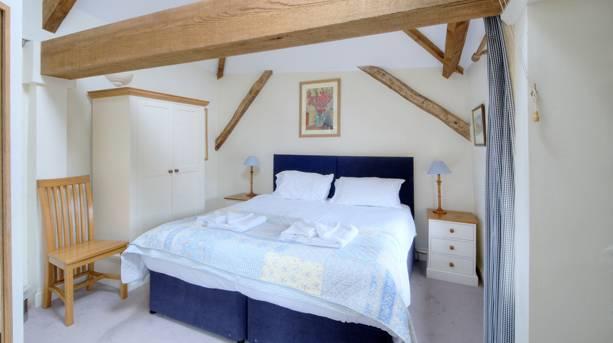 Bedroom at Higher Wiscombe