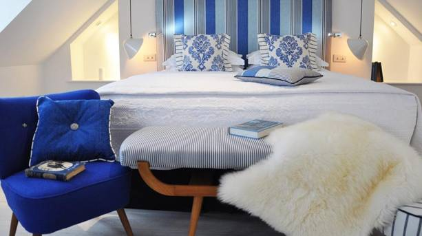 A bedroom at Trevose Harbour House