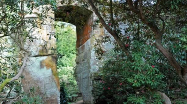 Entrance to Quarry Garden