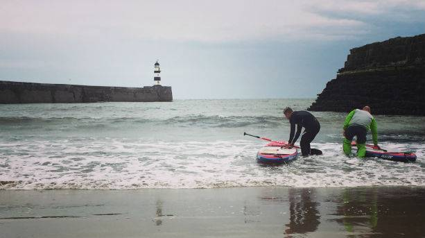 Ben Fogle on the Durham Coast