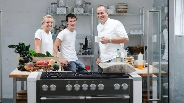Richard Bertinet of the Bertinet Kitchen