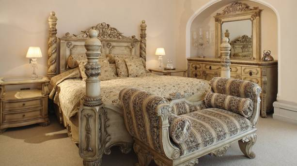 Berwick Lodge bedroom