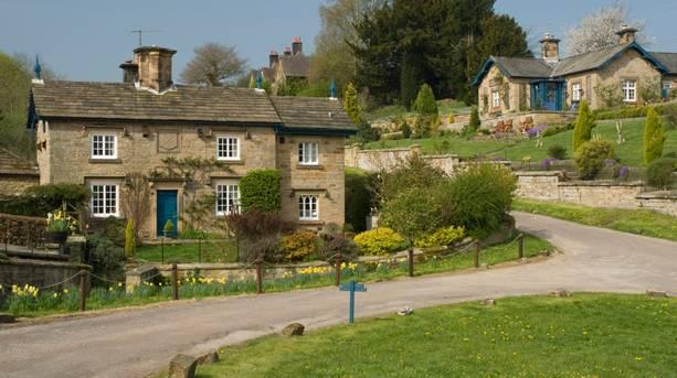 Edensor Village on the Chatsworth estate