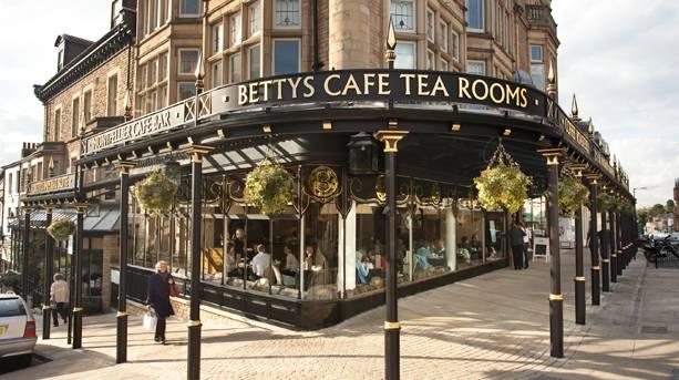 Street view of Bettys Café Tea Rooms