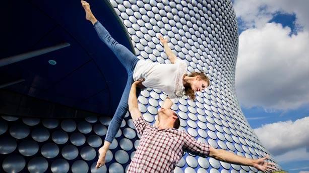 Acrobatics at the Birmingham Weekender