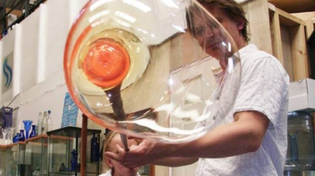 Blow your own glass bubble