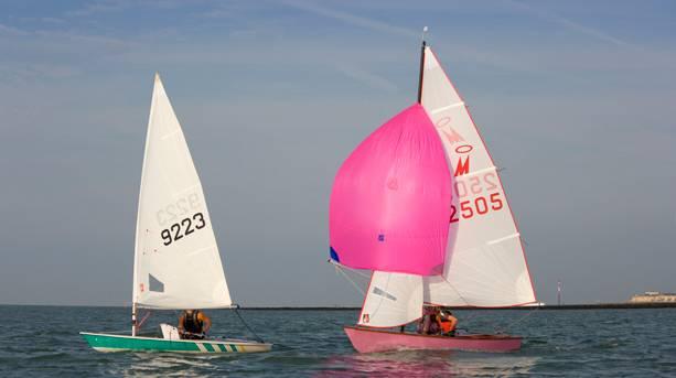 Sailing off Margate