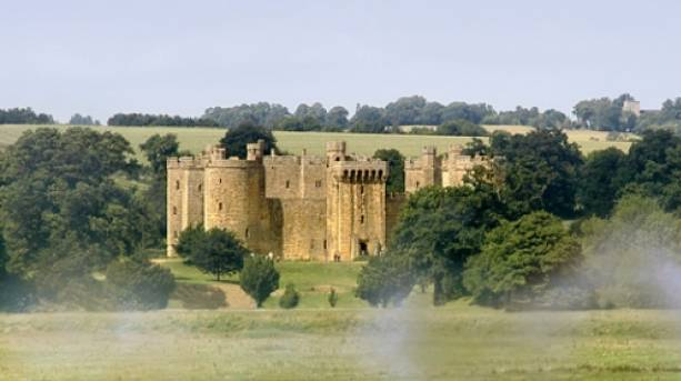 Be swept away by Bodiam Castle's charms