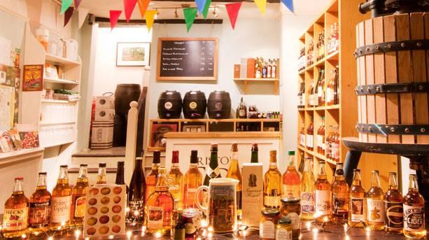 Bristol Cider Shop, Christmas Steps