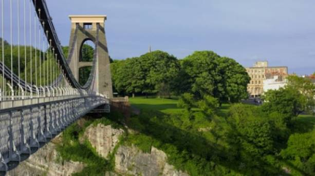 The Clifton Suspension Bridge. Copyright VisitBritain