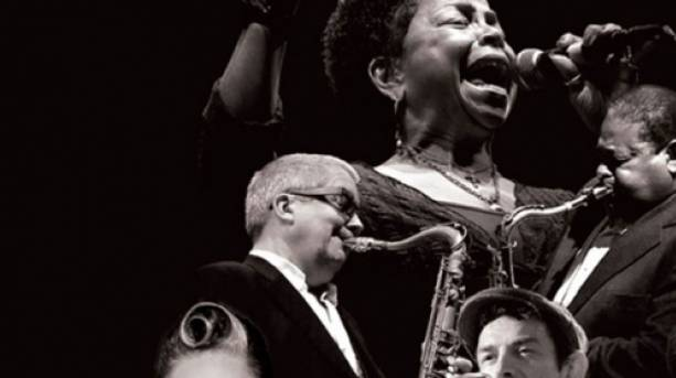 Performers at the Bristol International Jazz and Blues Festival