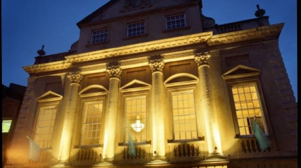Bristol Old Vic at night