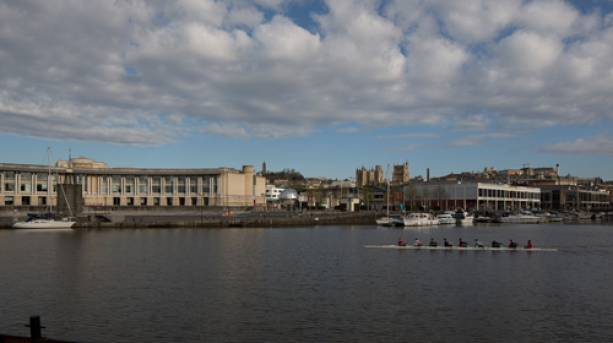 View across the Floating Harbour towards Harbourside