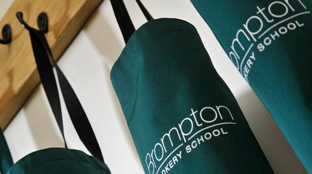 Brompton Cookery School aprons