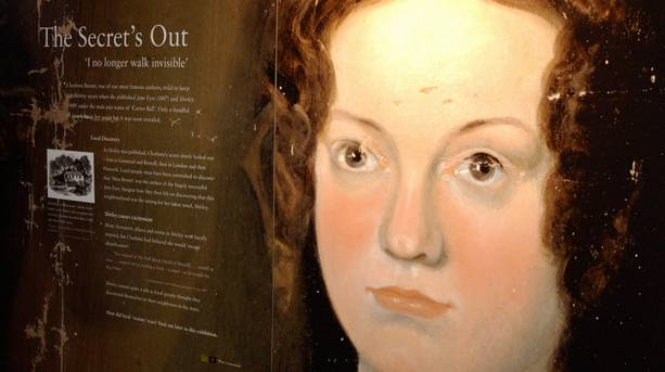 Charlotte Bronte at The Secret's Out gallery at Red House Museum
