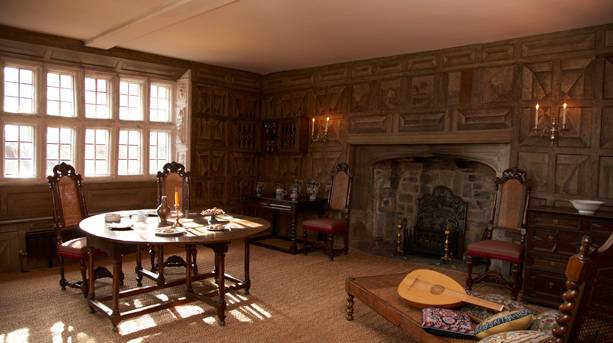 One of the many period rooms at Oakwell Hall