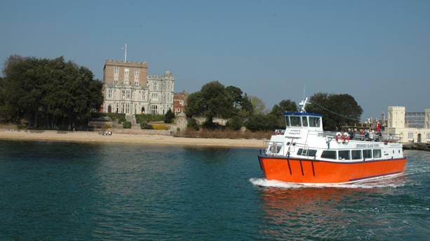 Boat to Brownsea Island