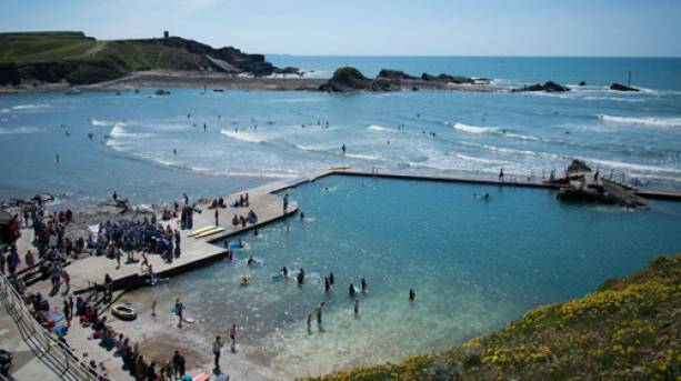 Swim In Bude Sea Pool Visitengland