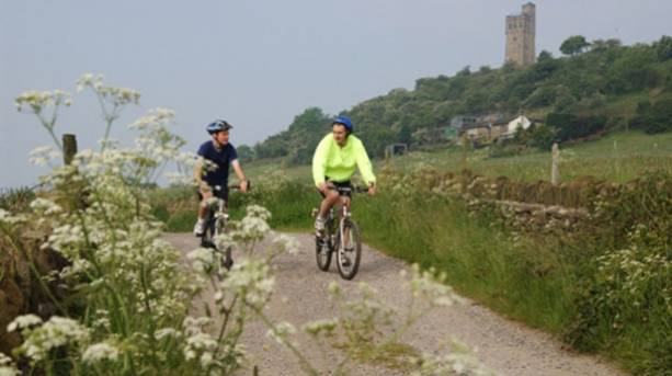 Cycling at Castle Hill
