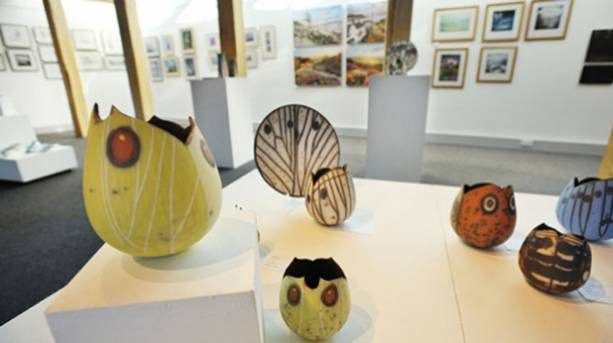 Inspired by... gallery at The Moors National Park Centre, Danby