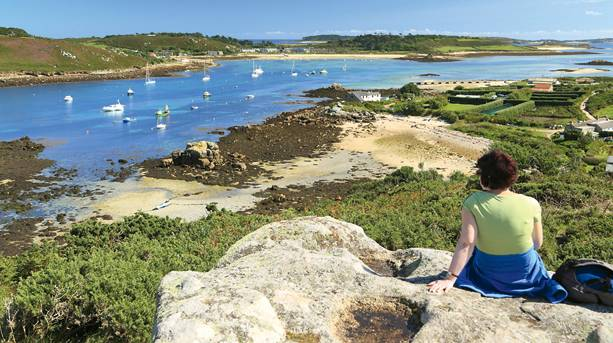 Beach on the Isles of Scilly