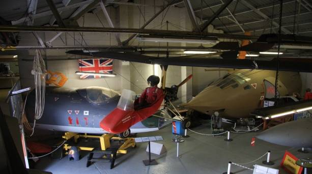 Aviation history on display at the RAF Manston History Museum