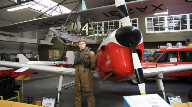 Aviation exhibits at the RAF Manston History Museum