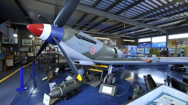 Spitfire at RAF Manston