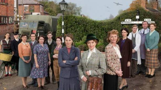 The Home Fires cast in 'Great Paxford'
