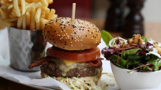 Food at Burger & Lobster