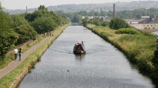 Leeds Liverpool Canal, Burnley