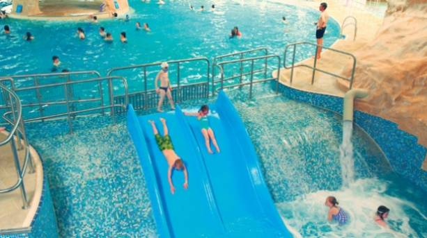 Family holiday at Butlins Splash Waterworld