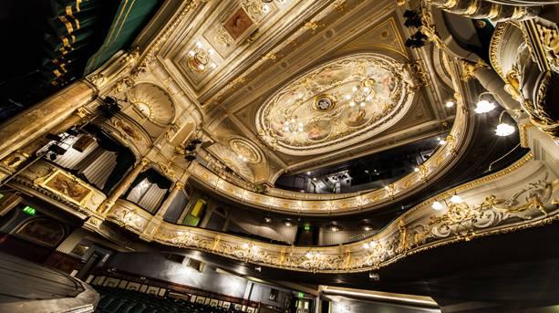 Buxton Opera House celling